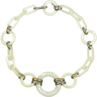 Saint Laurent Vintage Arty White Other Necklace