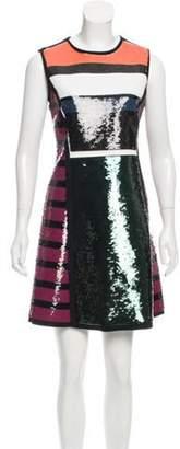 Cédric Charlier Embellished Mini Dress w/ Tags green Embellished Mini Dress w/ Tags