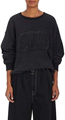 MM6 MAISON MARGIELA Women's Cotton-Blend French Terry Sweatshirt