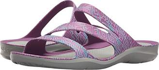 Crocs Women's Swiftwater Graphic Sandal W Sport