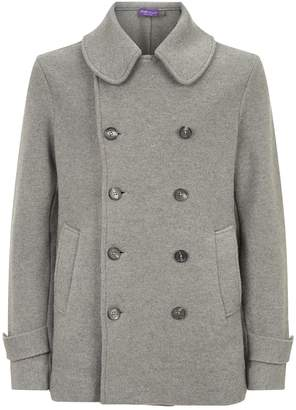 Ralph Lauren Purple Label Wool Pea Coat