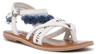 Toms Lexie Fringe Leather Thong Sandal