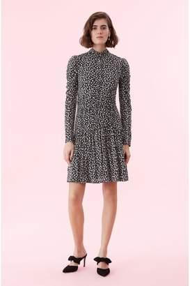Rebecca Taylor Mini Cheetah Jersey Dress