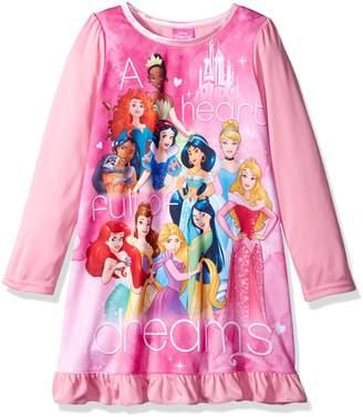 Disney Big Girls Multi-princess Nightgown