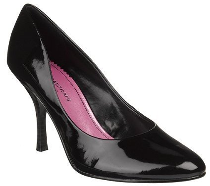 Isaac Mizrahi for Target® Riley Almond Toe Pumps - Black Patent