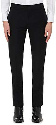 Saint Laurent Men's Side-Striped Wool Trousers $990 thestylecure.com