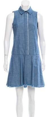 Proenza Schouler Sleeveless Chambray Dress w/ Tags