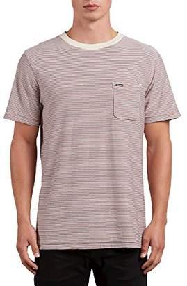 Volcom Men's Preston Short Sleeve Knit Crew Shirt