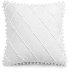 Jessica Simpson Pom-Pom Trim Cushion