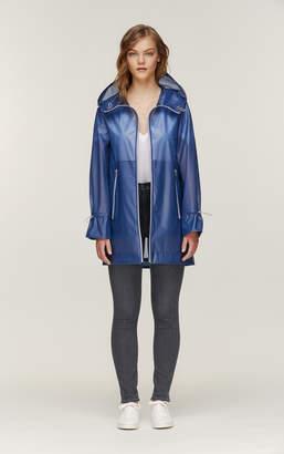 Soia & Kyo MONTELLA straight fit mid length waterproof rain coat