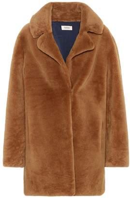 Yves Salomon Meteo Lamb fur coat