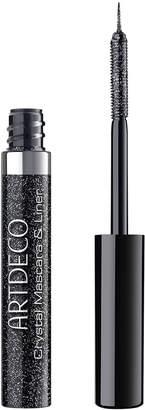 Artdeco Crystal Mascara & Liner - 1 Onyx Glitter