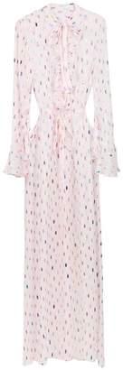 Reinaldo Lourenço long sleeved silk dress