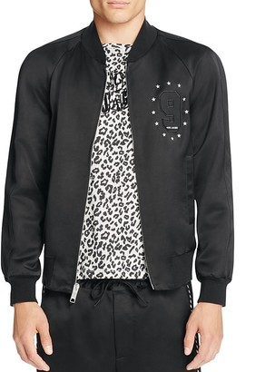 MARC JACOBS Satin Suiting Embellished Track Jacket $1,490 thestylecure.com