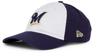New Era Cap MLB Milwaukee Brewers White Pop Cap