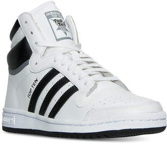 adidas Men's Top Ten Hi Casual Sneakers from Finish Line
