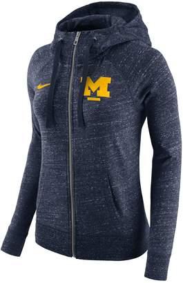 Nike Women's Michigan Wolverines Gym Vintage Hoodie
