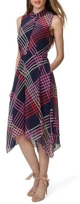 Women's Donna Morgan Print Chiffon Handkerchief Hem Shirtdress $128 thestylecure.com