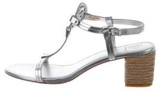 Tory Burch Miller Espadrille Sandals