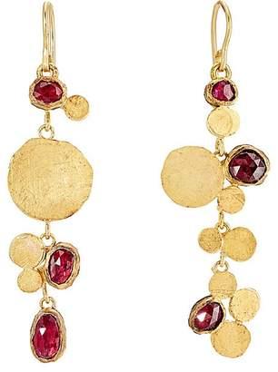 Judy Geib Women's Triple-Drop Cluster Earrings