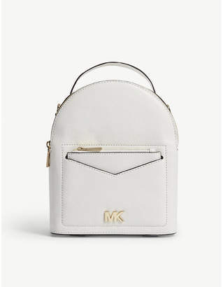 MICHAEL Michael Kors Jessa small leather cross-body backpack