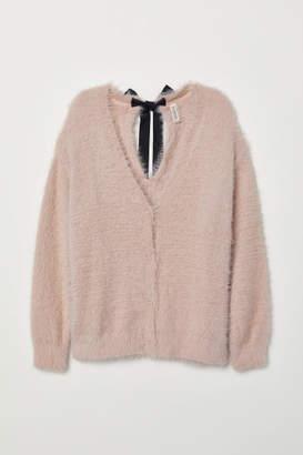 H&M Fluffy Cardigan - Pink