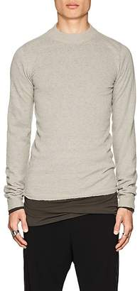 Rick Owens Men's Lupetto Knit Alpaca-Blend High-Neck Sweater