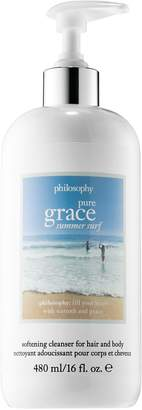 philosophy Pure Grace Summer Surf Hair & Body Softening Cleanser