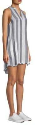 Bella Dahl Striped Button-Front Dress