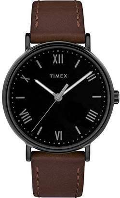 Timex Men's TW2R80300 Southview 41 Leather Strap Watch