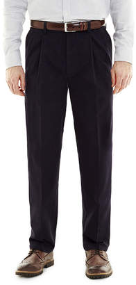 ST. JOHN'S BAY Worry Free Comfort-Ease Relaxed-Fit Pleated Pants