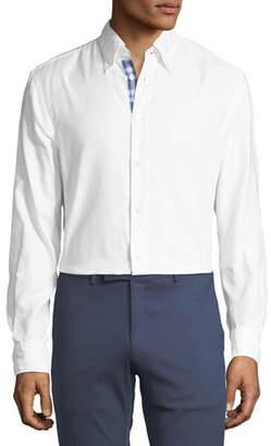 Ralph Lauren Contrast-Face Oxford Shirt