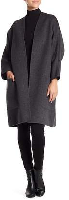 Vince Open Front Wool Blend Cardigan
