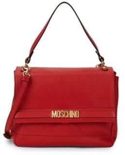 Moschino Galavanic Leather Crossbody Bag
