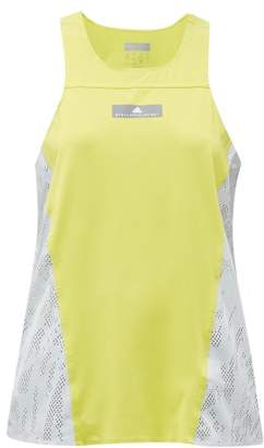 adidas by Stella McCartney Run Stretch Knit Tank Top - Womens - Green