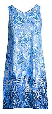 Lilly Pulitzer Women's Kristen Sleeveless Jersey Print Swing Dress