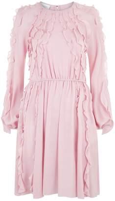 Giambattista Valli Ruffled Midi Dress