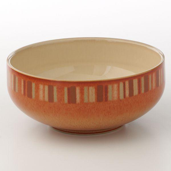 Denby fire stripes cereal bowl