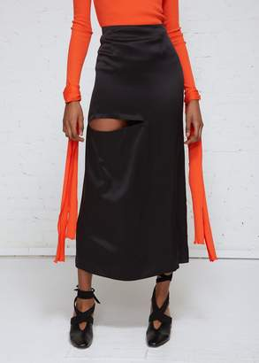 J.W.Anderson Bonded Cutout Skirt