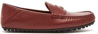 Gucci - Kanye Leather Loafers - Mens - Burgundy