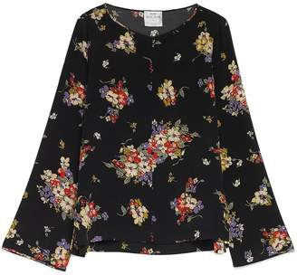 Forte Forte Printed Crepe Top