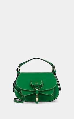 Fontana Milano Women's Wight Toy Saddle Crossbody Bag - Green