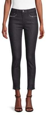 Versace Embellished Skinny Jeans