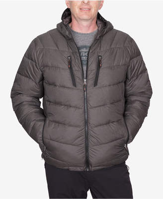 Hawke & Co Men's Packable Chevron Parka