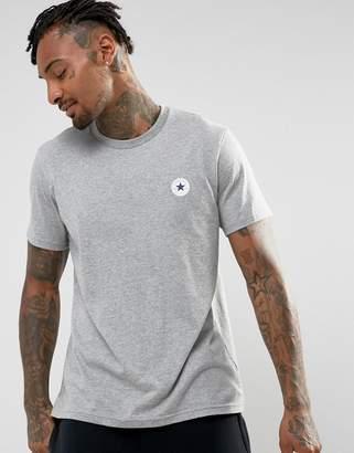 Converse Core Logo T-Shirt In Gray 10005137-A02