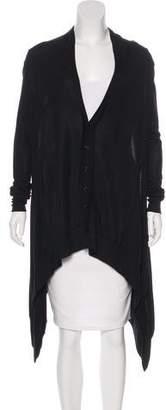 Y-3 x Adidas Knit Asymmetrical Cardigan