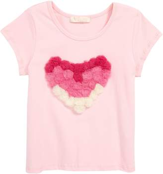 Truly Me Heart Applique Tee