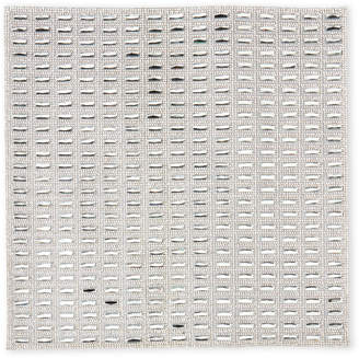 Sparkles Silver Fifth Ave Square Placemat