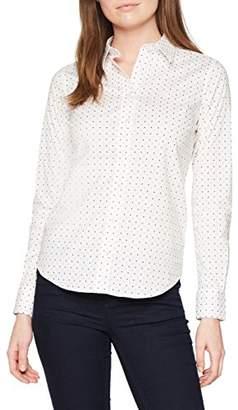 Gant Women's Stretch Broadcloth Polkadot Shirt,(Manufacturer Size: 40)