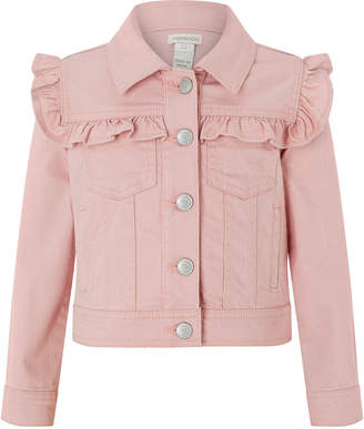 Monsoon Piera Ruffle Twill Jacket